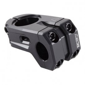 Stock Front Load Stem Forged 6061 T6 Black 52mm
