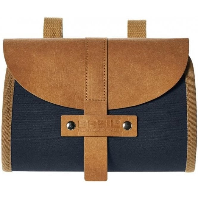 Basil Portland Saddlebag 0.5L Dark Blue