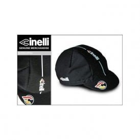 Supercorsa Black Cotton Cap
