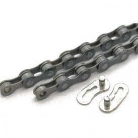 "9 Speed Chain 1/2""X11/128"" X116 Links Comp W/ All Major Derailleur Systems MTB/Road Quick Release Link Inc"