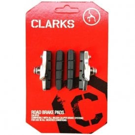 Road Caliper Brake Pads & Holder + Extra Pads