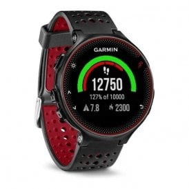 Forerunner 235 with wrist based HRM black and red