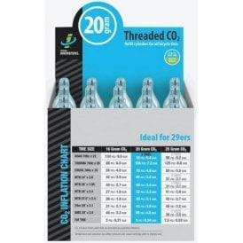 20G Threaded Cartridges (20 Pack)