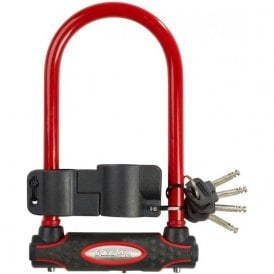 Street Fortum Gold Sold Secure D-Lock 210X110mm - Red