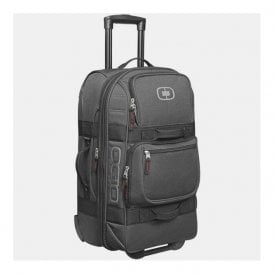 Layover wheeled travel bag - Black Pindot