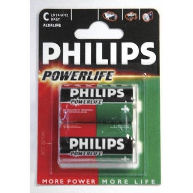 Philips Lr14 C Size Powerlife X2