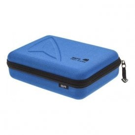 Sp Storage Case For Gopro Hero3 Cameras And Accessories - Blue