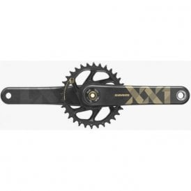 Crank Xx1 Eagle Dub 12S W Direct Mount 34T X-Sync 2 Chainring Black (Dub Cups/Bearings Not Included)