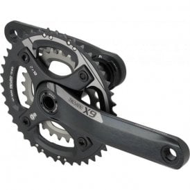 Crank X-9 Bb30 2.2 10Sp Grey 3926 (Bearings Not Included)