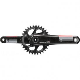 Xx1 Crank - Gxp - 1X11 - Boost 148 - Q-Factor 168 - Direct Mount 32T Chainring (Gxp Cups Not Included)