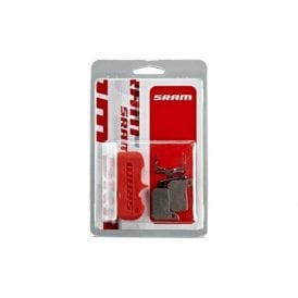 Level Ultimate & Tlm / Road Hydro Disc Brake Pads - Organic/Aluminum (Includes Guide Pin Clip & Pad Spreader)