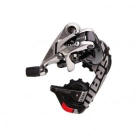 Red 10 Speed Rear Derailleur Wifli Aero Glide (Medium Cage)