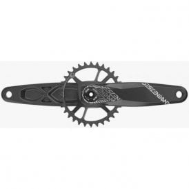 Crank Descendant 6K Aluminum Eagle Dub 12S W Direct Mount 32T X-Sync 2 Chainring Black (Dub Cups/Bearings Not Included)