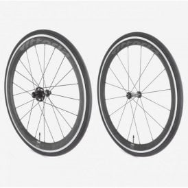 Fraxion Hybrid Aero Carbon/Alloy Clincher Wheelset - Sram/Shimano No Tool Freewheel Quick Release
