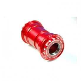 Pressfit 30 Bottom Bracket W/ Ceramic Bearings - Shimano Compatible - Red