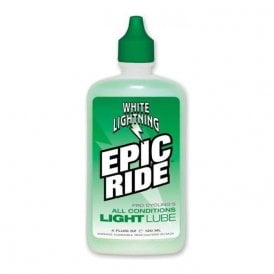 Lube W/Light Epic Ride 4Oz