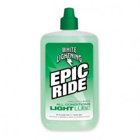 Lube W/Light Epic Ride 8Oz