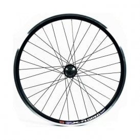 26 X 1.75 Black Double Wall Disc Q/R Front