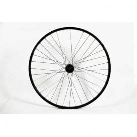 700C Rear Wheel Single Wall Qr 8/9 Speed Black